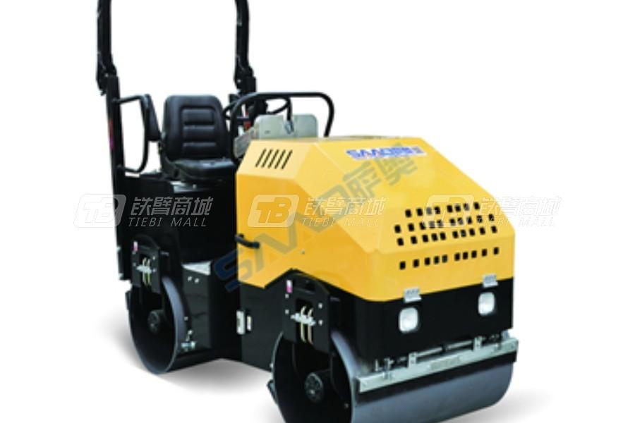萨奥机械SYL-900双钢轮压路机