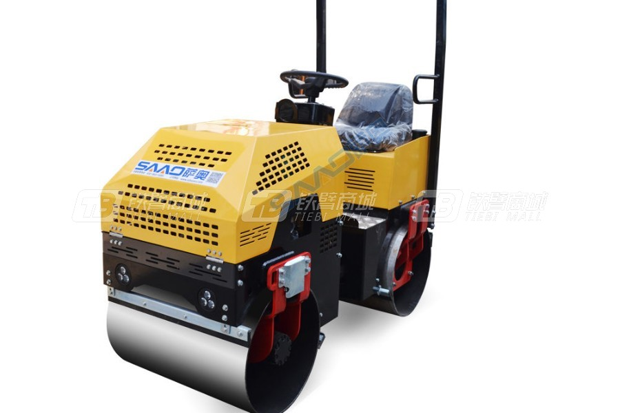 萨奥机械SYL-880双钢轮压路机