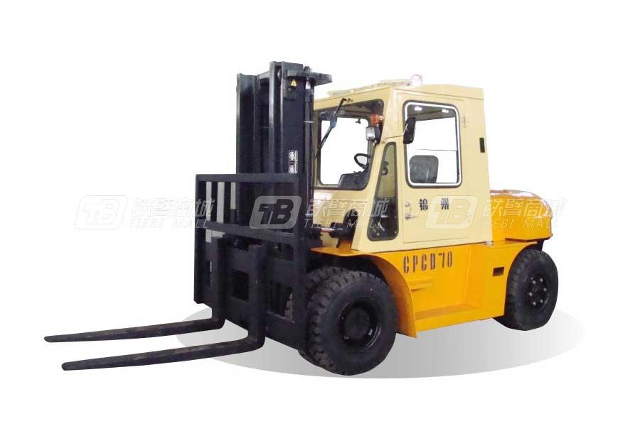 万力叉车CPCD70内燃平衡重叉车