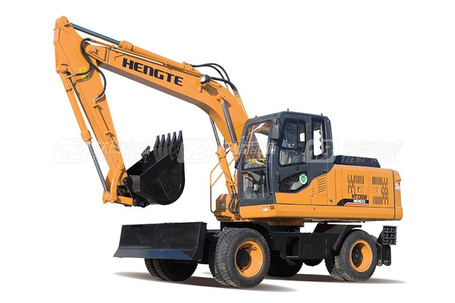 恒特重工HT135W轮式挖掘机