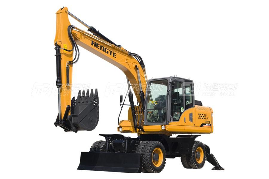 恒特重工HT155W轮式挖掘机