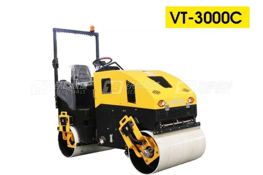 沃特VT-3000c全液压座驾压路机