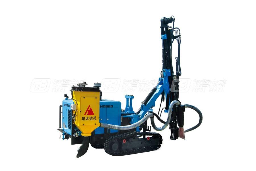 宏大钻孔HD680液压潜孔钻机