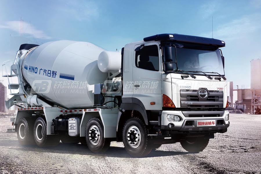 广汽日野YC2311FY2PU5混凝土搅拌运输车