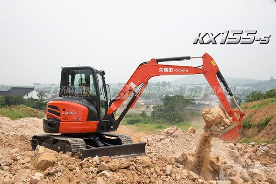 久保田KX155-5挖掘机