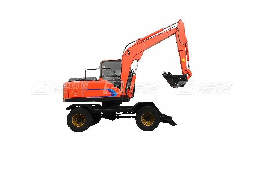 立派PW8580轮式挖掘机