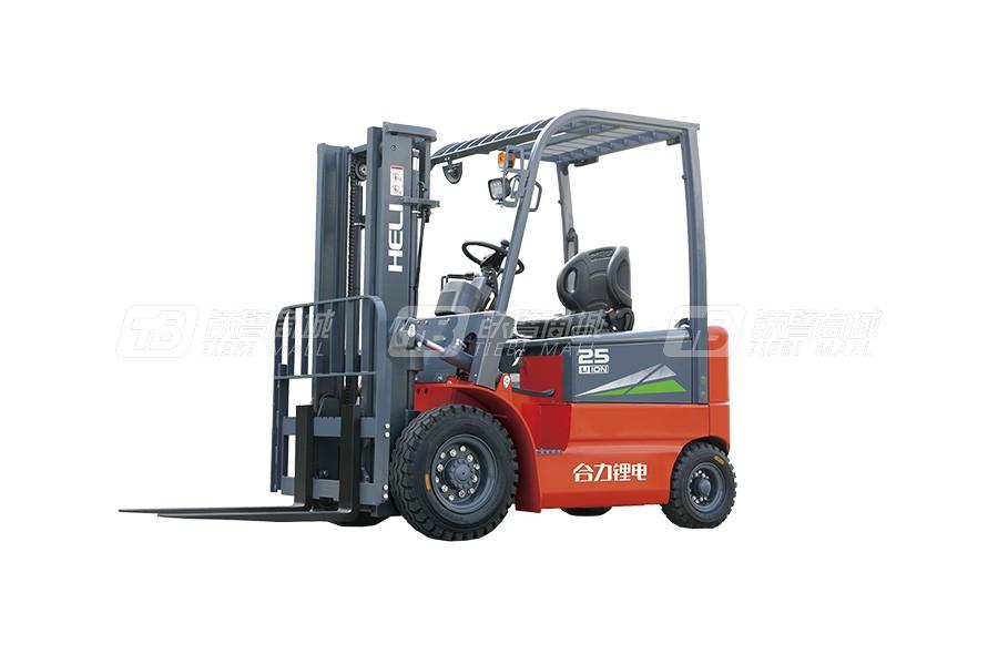 合力CPD10H3系列1吨锂电池平衡重式叉车