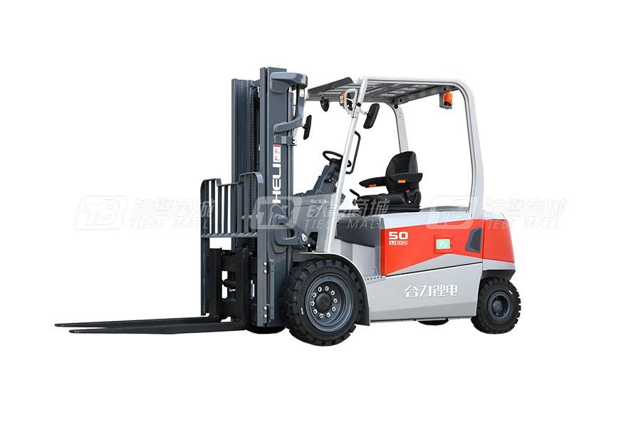 合力CPD40G3系列4吨锂电池平衡重式叉车