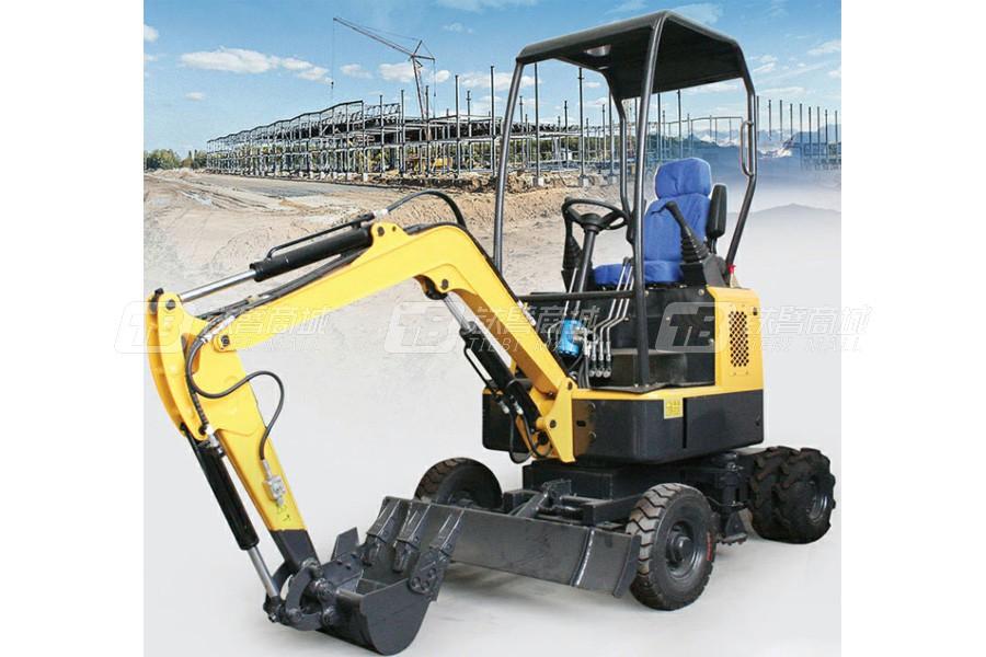 恒远ZJ12轮式挖掘机