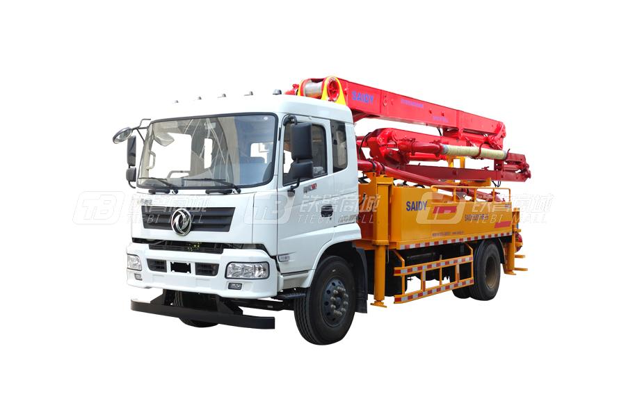 赛地重工SD5201THB-25臂架式混凝土泵车