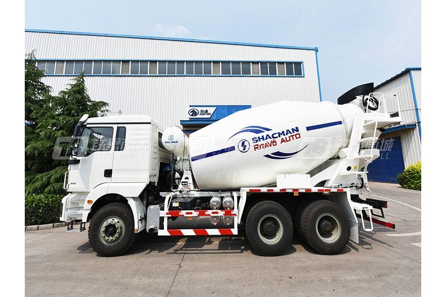 骏通SX5250GJBFB434混凝土搅拌运输车