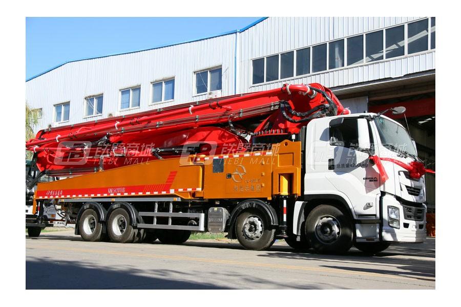 青岛科尼乐KNL5420THB58X-6RZ重庆五十铃58米混凝土泵车