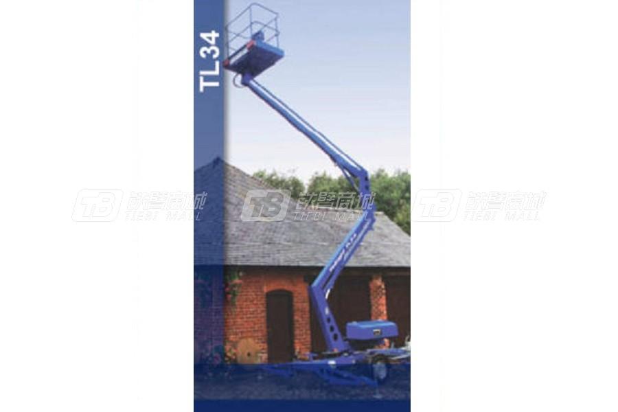 曼克斯TL34曲臂拖车式高空作业平台