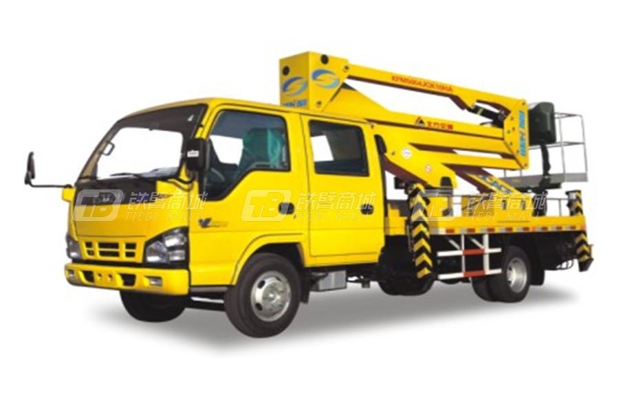 北方交通KFM5054JGK410HA进口上装系列高空作业车