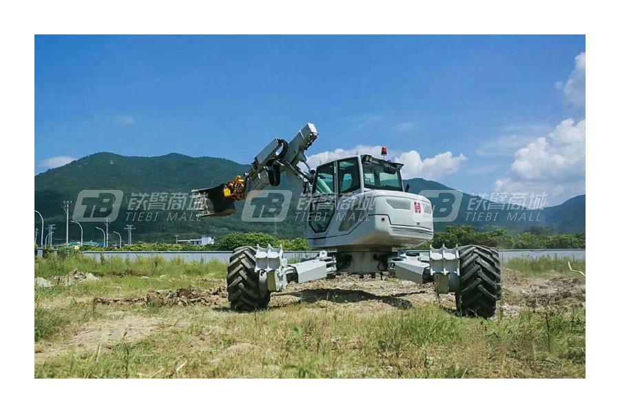 福建海山机械HSWE6T步履工作平台