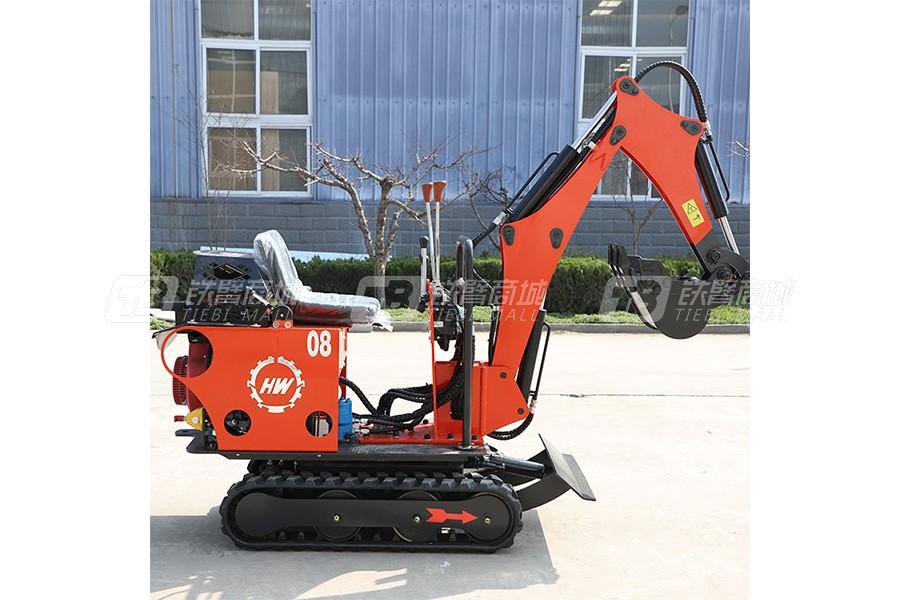 鲁恒HW-08微型挖掘机