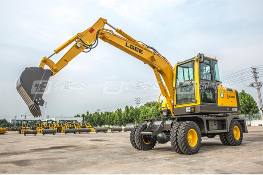 临工特机LG75F轮式挖掘机