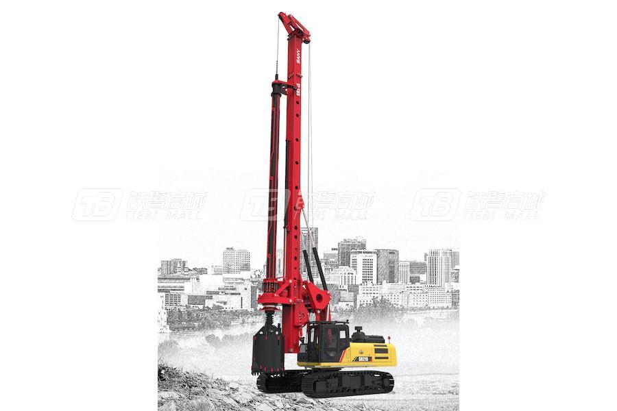 三一SR215旋挖钻机