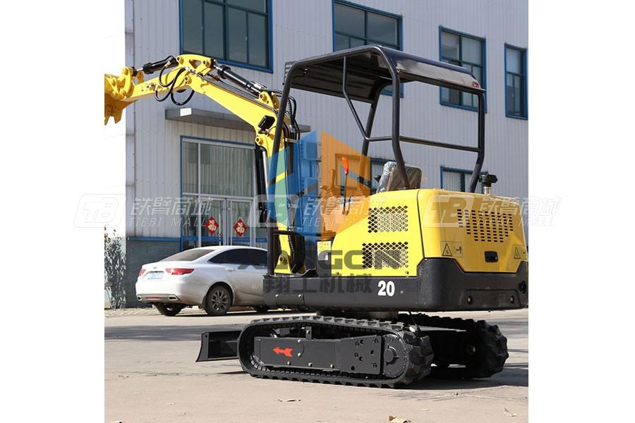 山东翔工XG8020履带式小型挖掘机