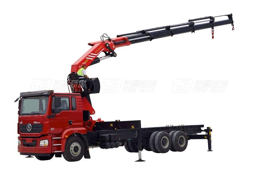 三一SPK55502折臂随车起重机