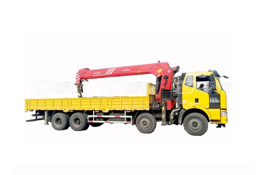 三一SPS4500018吨直臂式随车起重机