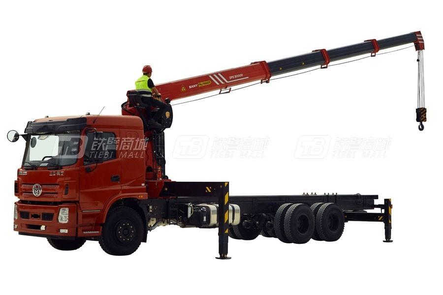 三一SPS3000012吨直臂式随车起重机