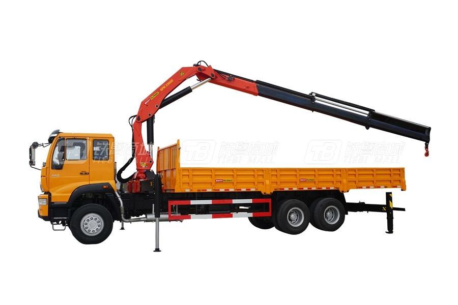 三一SPK2350023吨米折臂式随车起重机