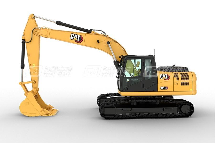 卡特彼勒新经典CAT® 323 GX履带挖掘机