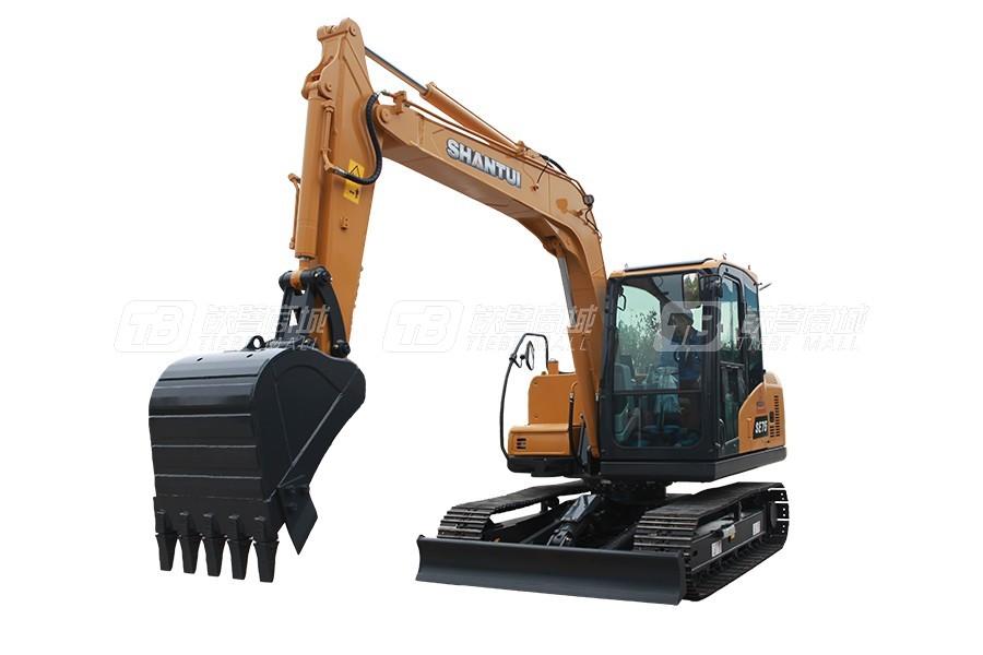 山重建机SHANTUISE75-9w履带挖掘机