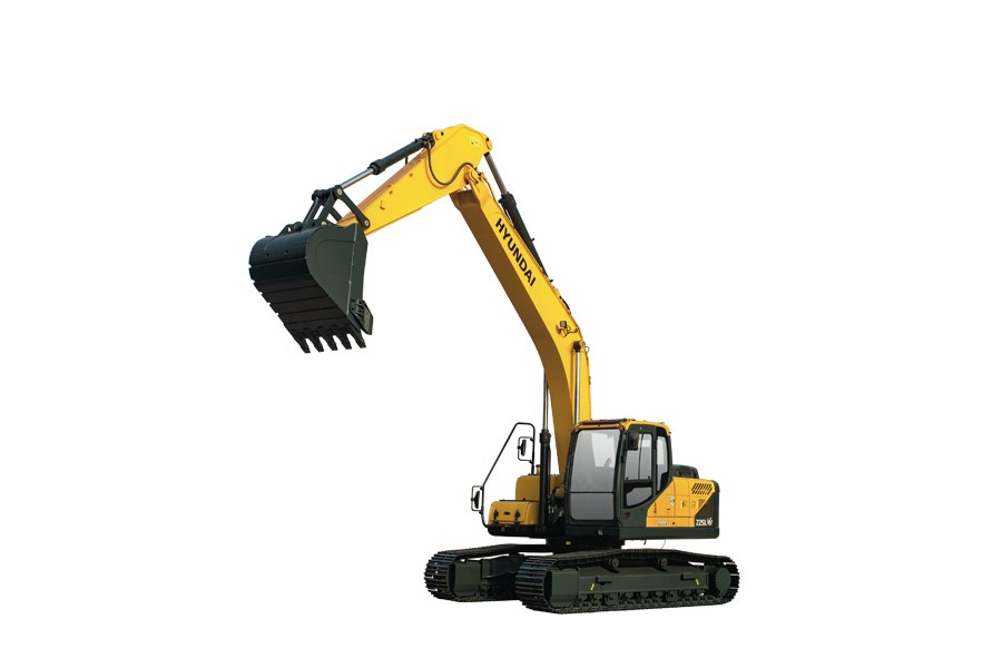 现代R215LVS履带挖掘机