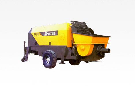 晋工HBT60E拖泵图片