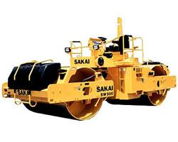 酒井SW900双钢轮压路机