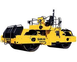 酒井SW800双钢轮压路机