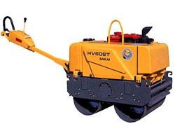 酒井HV60ST双钢轮压路机