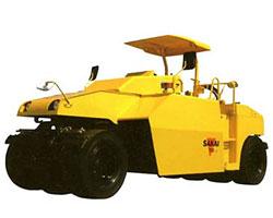酒井T2轮胎压路机