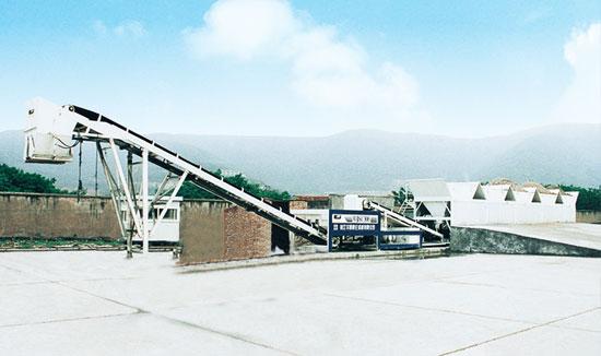 华通动力WBSC500稳定土厂拌设备