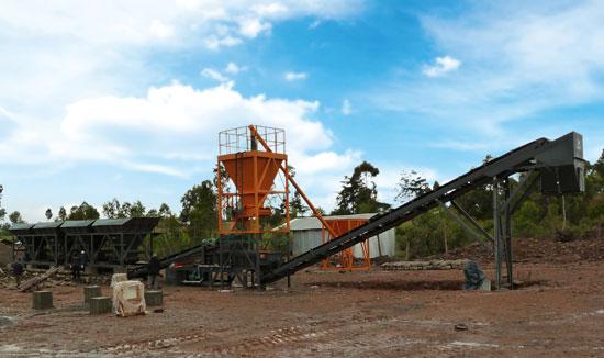 华通动力WBSD500稳定土厂拌设备