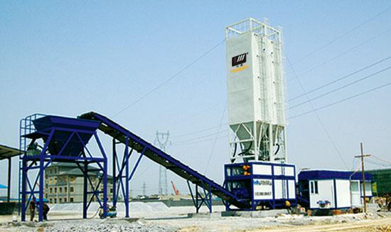 华通动力WBS600E稳定土厂拌设备