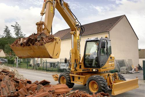 凯斯WX125轮式挖掘机