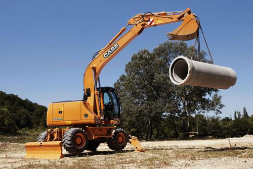 凯斯WX145轮式挖掘机