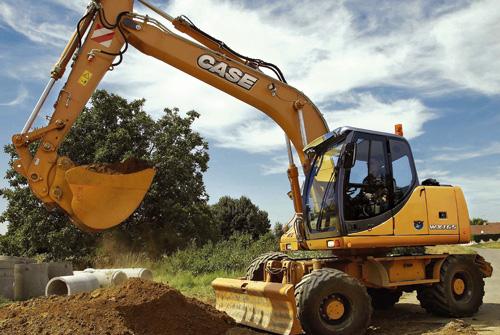 凯斯WX165轮式挖掘机