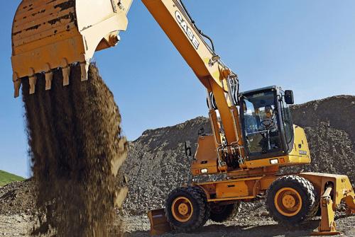 凯斯WX185轮式挖掘机