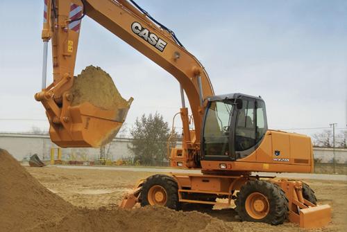 凯斯WX210轮式挖掘机