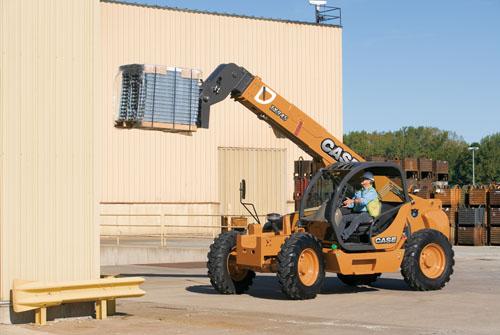 凯斯TX140-45伸缩臂叉装机