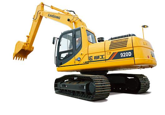 柳工920D挖掘机