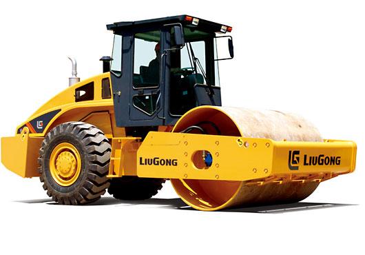 柳工CLG616单钢轮压路机