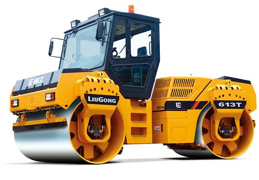 柳工CLG613T双钢轮压路机