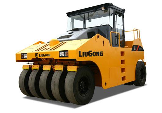 柳工CLG630R轮胎压路机