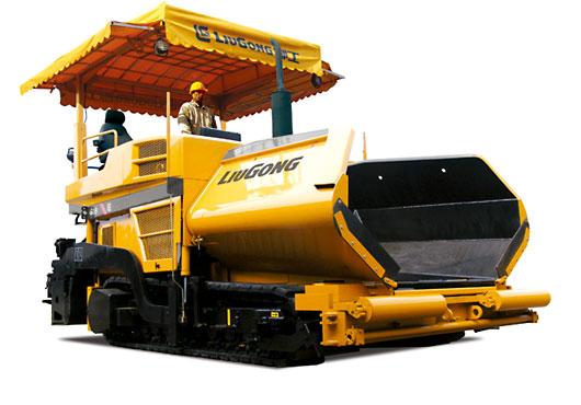 柳工CLG509履带式摊铺机