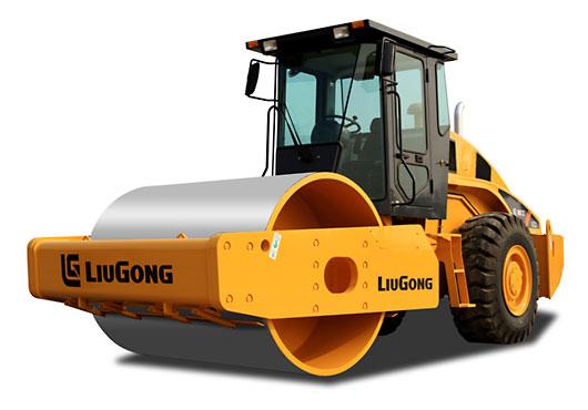 柳工CLG622单钢轮压路机